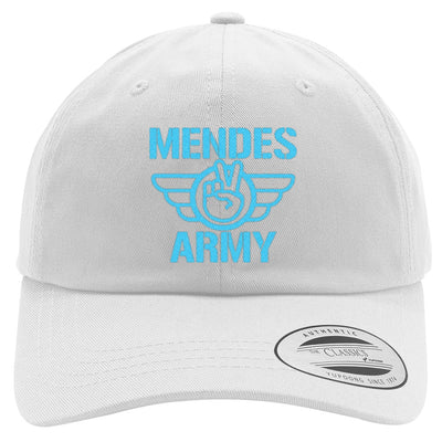 SHAWN MENDES ARMY Embroidered Cotton Twill Hat