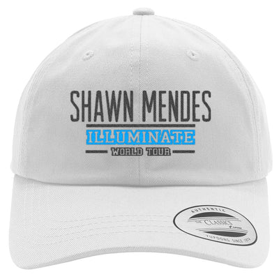 SHAWN MENDES ILLUMINATE WORLD TOUR Embroidered Cotton Twill Hat