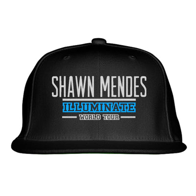 SHAWN MENDES ILLUMINATE WORLD TOUR Embroidered Snapback Hat