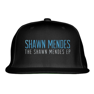 SHAWN MENDES Embroidered Snapback Hat