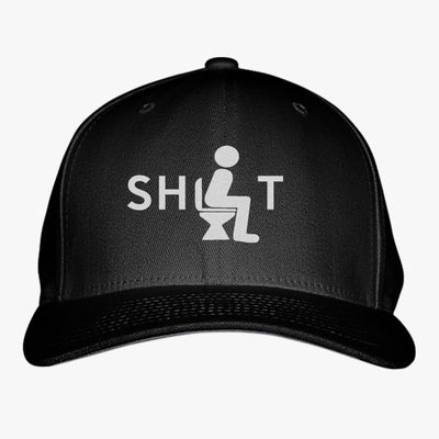 Shit Embroidered Baseball Cap