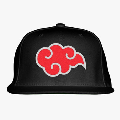 Single Akatsuki Claud Embroidered Snapback Hat
