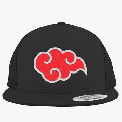 Single Akatsuki Claud Embroidered Trucker Hat
