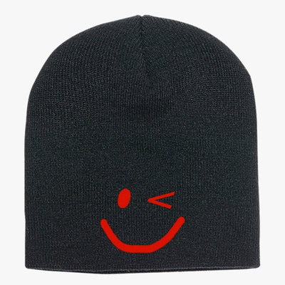 Smile-face Knit Beanie