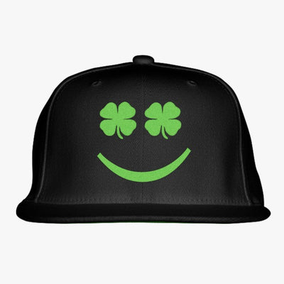 St. Patrick's Day Embroidered Snapback Hat