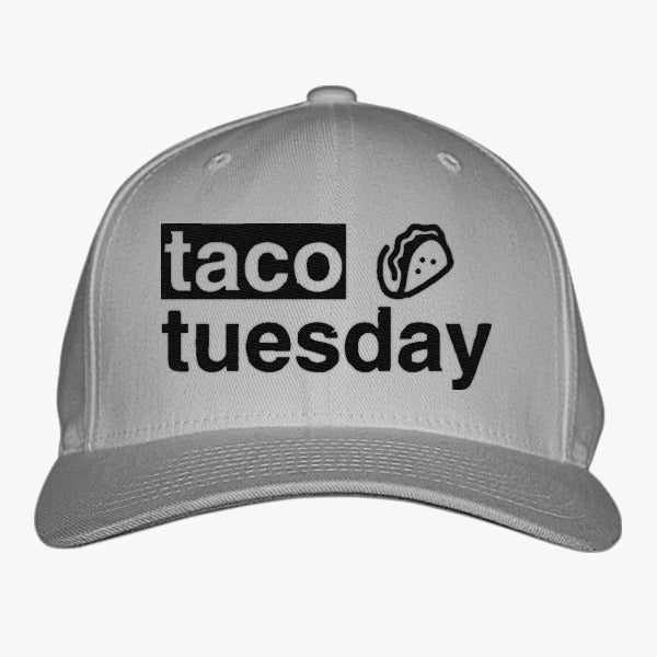 Taco Tuesday Embroidered Baseball Cap – Hatsline c85782ccd8c