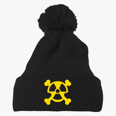 The Reactor Embroidered Knit Pom Cap