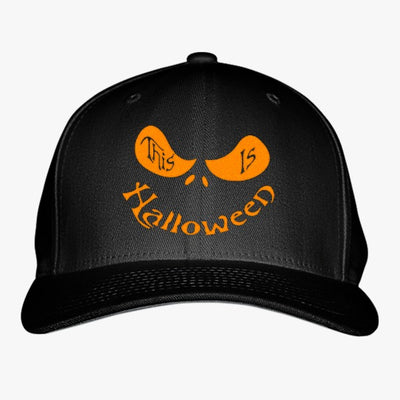 This Is Halloween Embroidered Baseball Cap