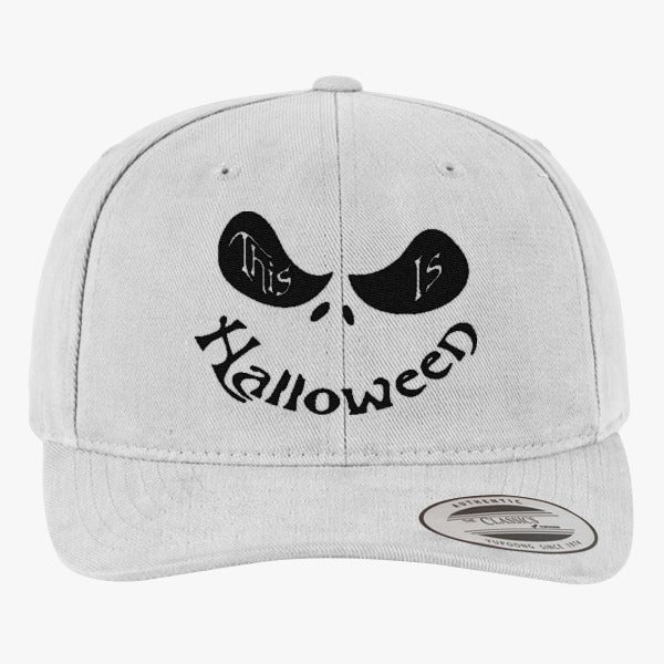 This Is Halloween Brushed Embroidered Cotton Twill Hat