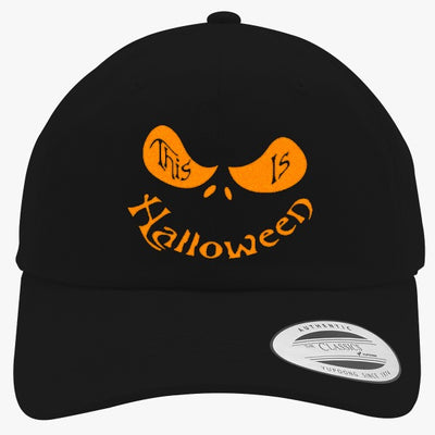 This Is Halloween Embroidered Cotton Twill Hat