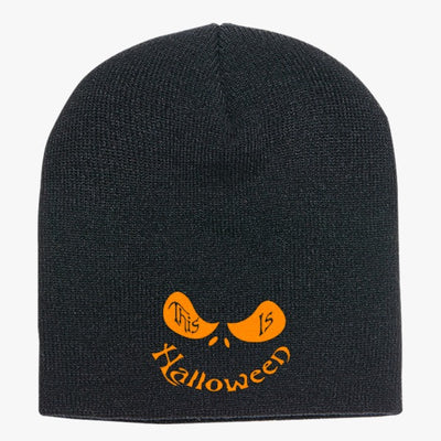 This Is Halloween Knit Beanie