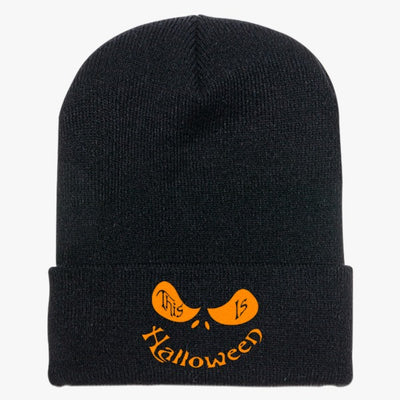 This Is Halloween Knit Cap