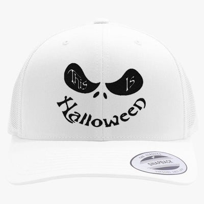 This Is Halloween Embroidered Retro Embroidered Trucker Hat