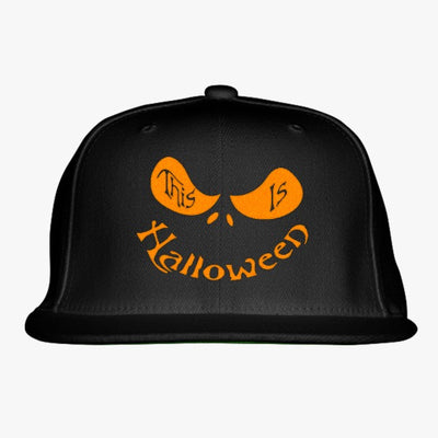 This Is Halloween Embroidered Snapback Hat