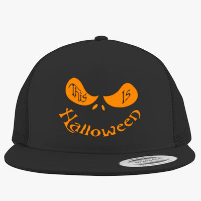 This Is Halloween Embroidered Trucker Hat