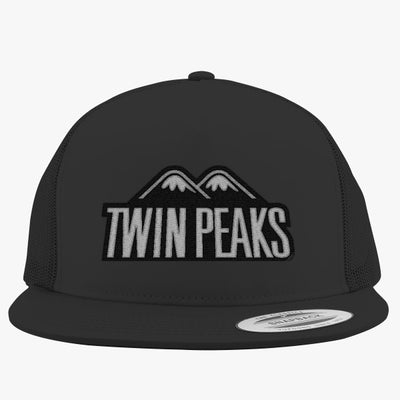 Twin Peaks Embroidered Trucker Hat