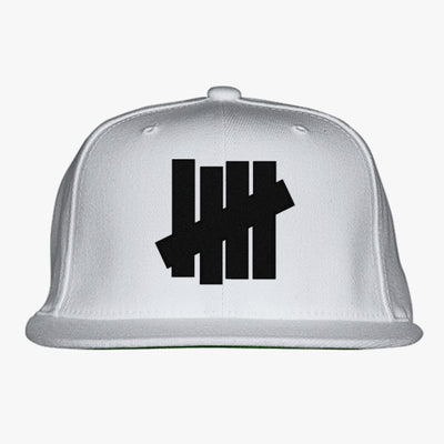 Undefeated Logo  Embroidered Snapback Hat