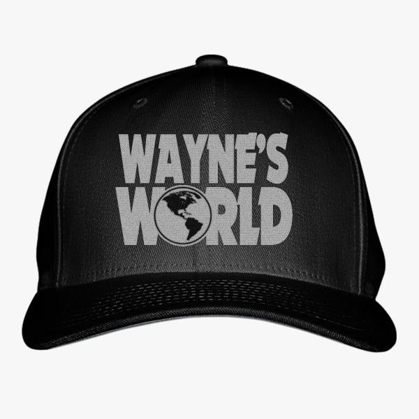 34bcde28f26 Wayne s World Embroidered Baseball Cap – Hatsline