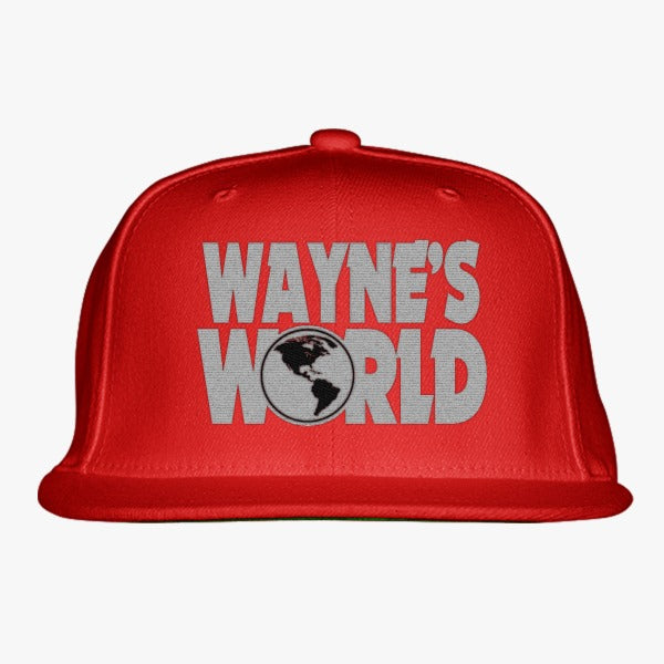 3fe6d276985 Wayne s World Embroidered Snapback Hat – Hatsline