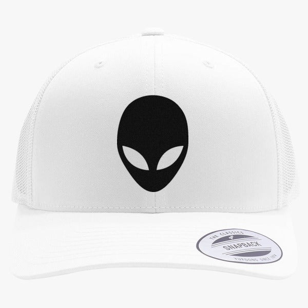 68cadd39491 We Are All Alien! Embroidered Retro Embroidered Trucker Hat – Hatsline
