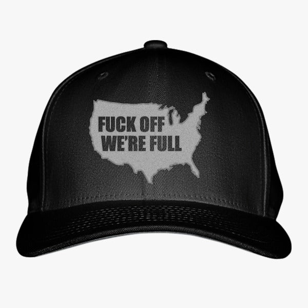We Are Full Embroidered Baseball Cap