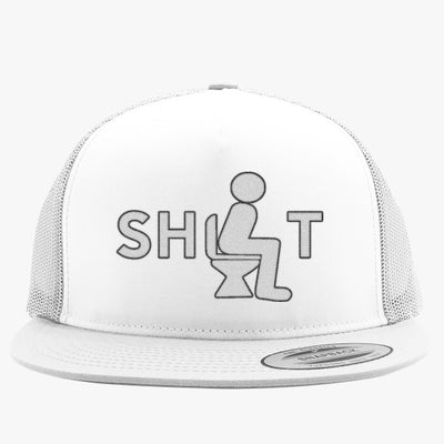 Shit Embroidered Trucker Hat