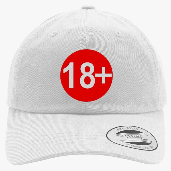 18  Embroidered Cotton Twill Hat