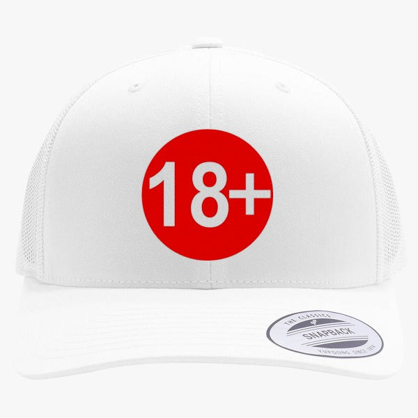 18  Embroidered Retro Embroidered Trucker Hat