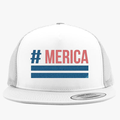 'Merica Embroidered Trucker Hat