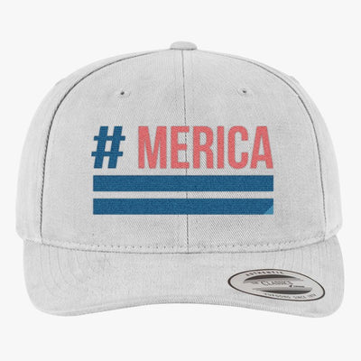 'Merica Brushed Embroidered Cotton Twill Hat