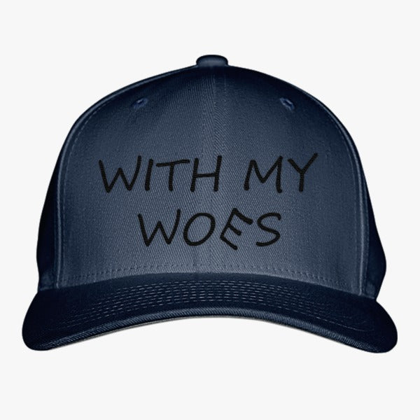 970904e2b8d With My Woes Embroidered Baseball Cap – Hatsline