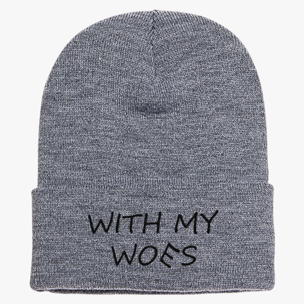 be461b487d3 With My Woes Knit Cap – Hatsline