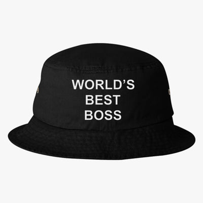 World's Best Boss Bucket Hat