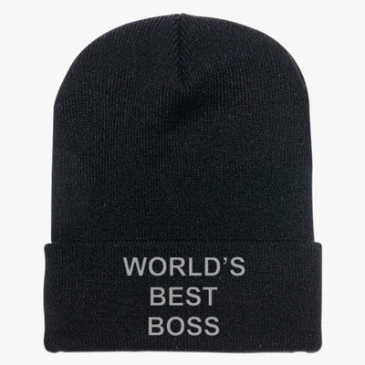 World's Best Boss Knit Cap