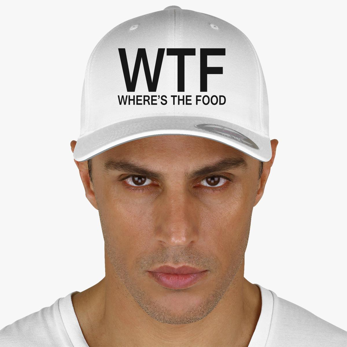 WTF Embroidered Baseball Cap