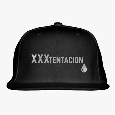 Xxxtentacion Embroidered Snapback Hat