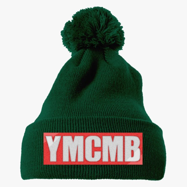 837cd2eeb57 ... low price ymcmb embroidered knit pom cap hatsline 2a795 6247c