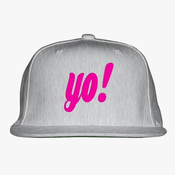 Yo ! Embroidered Snapback Hat