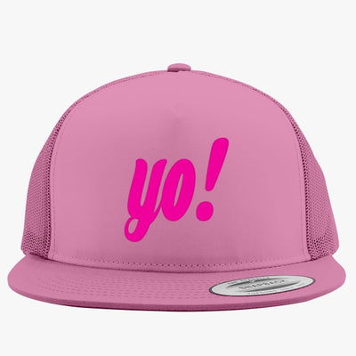 Yo ! Embroidered Trucker Hat