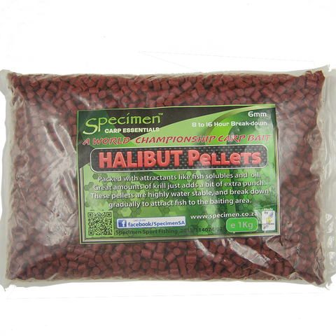 Pellets: Red Halibut