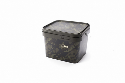 Nash Carp Rectangular Bucket Camo