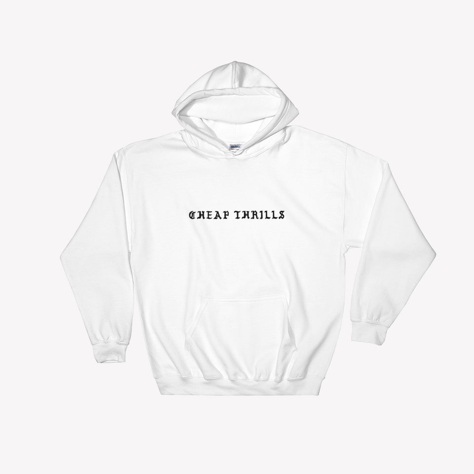 Cheap Thrills Hooded Logo Sweatshirt