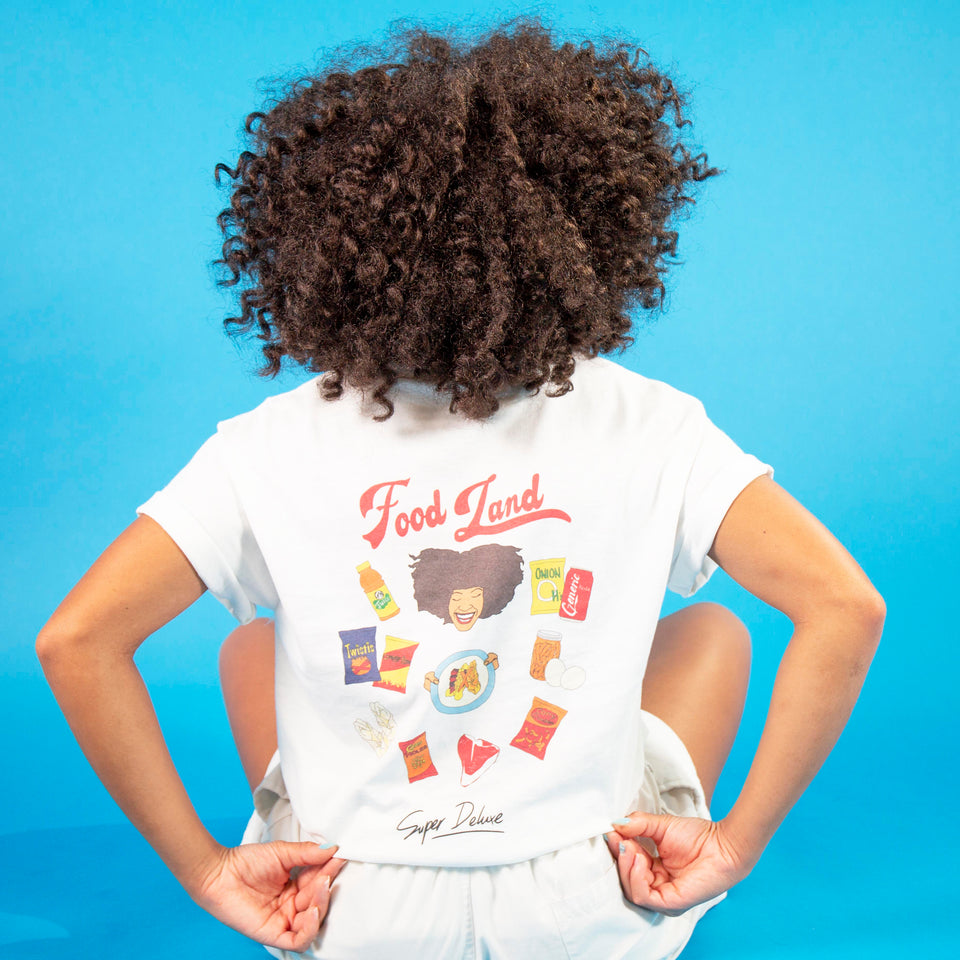 Food Land X Wax Paper t-shirt