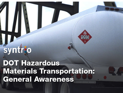 DOT Hazardous Materials Transportation: General Awareness