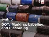 DOT: Marking, Labeling, and Placarding