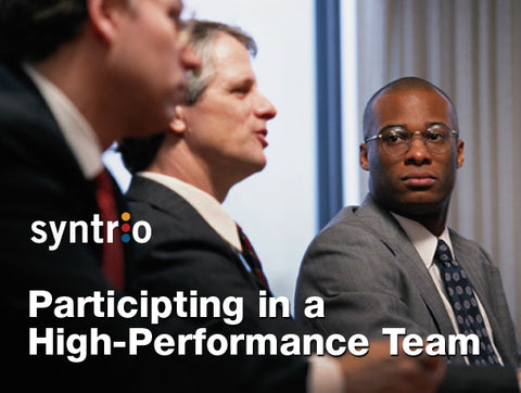 Participating in a High Performance Team