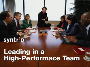 Leading a High-Performance Team