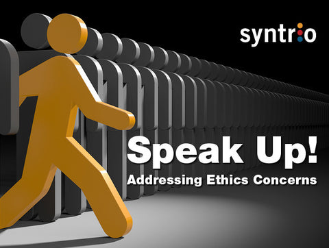 Speak Up! Addressing Ethics Concerns