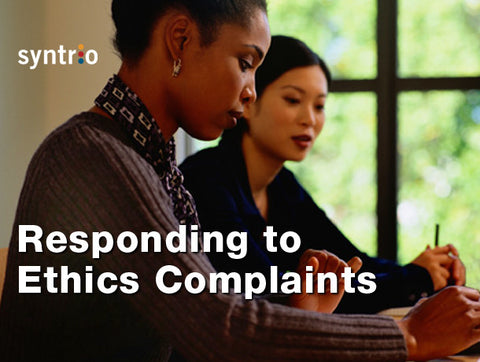 Responding to Ethical Complaints