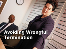 Avoiding Wrongful Termination